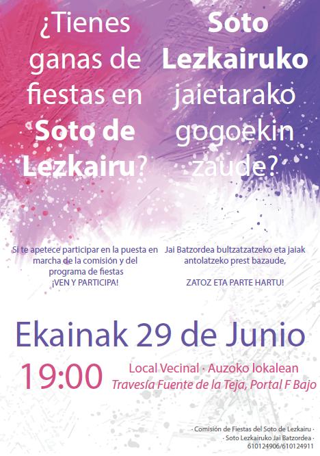 Fiestas Soto Lezkairu