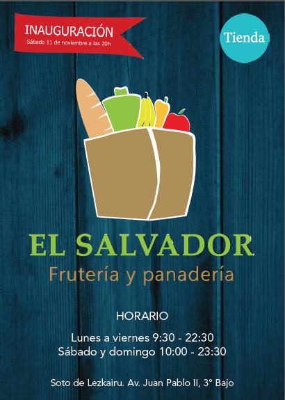 Inauguración tienda alimentación El Salvador