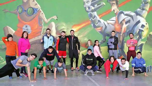 Deporte en Lezkairu: Train with TMax y running
