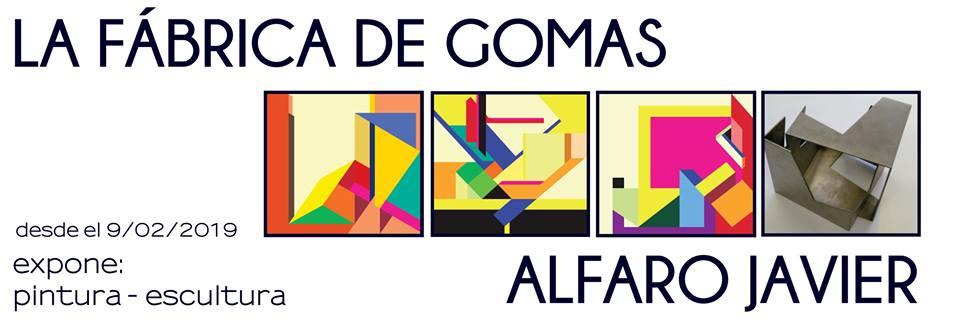 Exposición de Alfaro Javier en La fábrica de Gomas