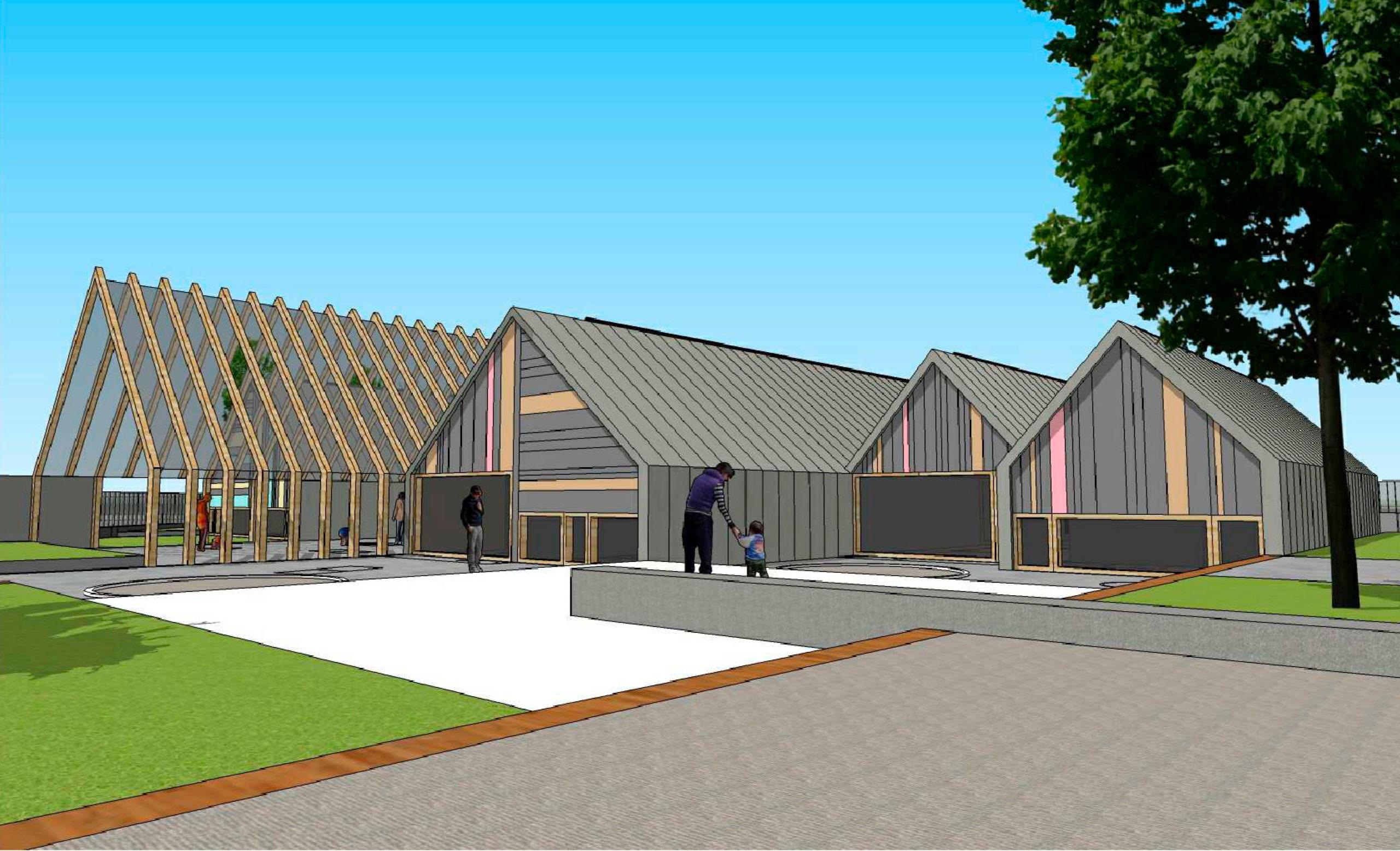 Las obras de la futura Escuela Infantil de Lezkairu comenzarán el próximo mes de noviembre