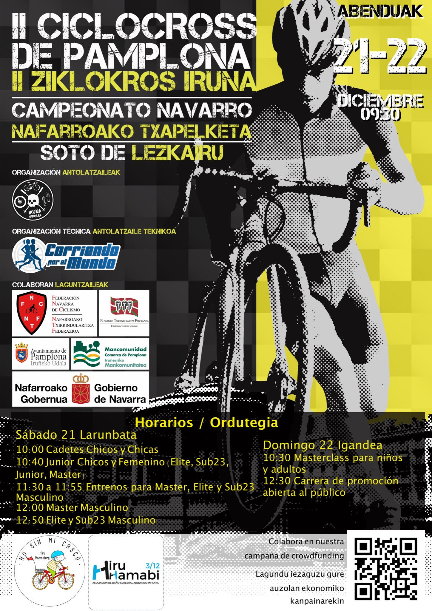 Este fin de semana la II Ciclocross Pamplona en Lezkairu