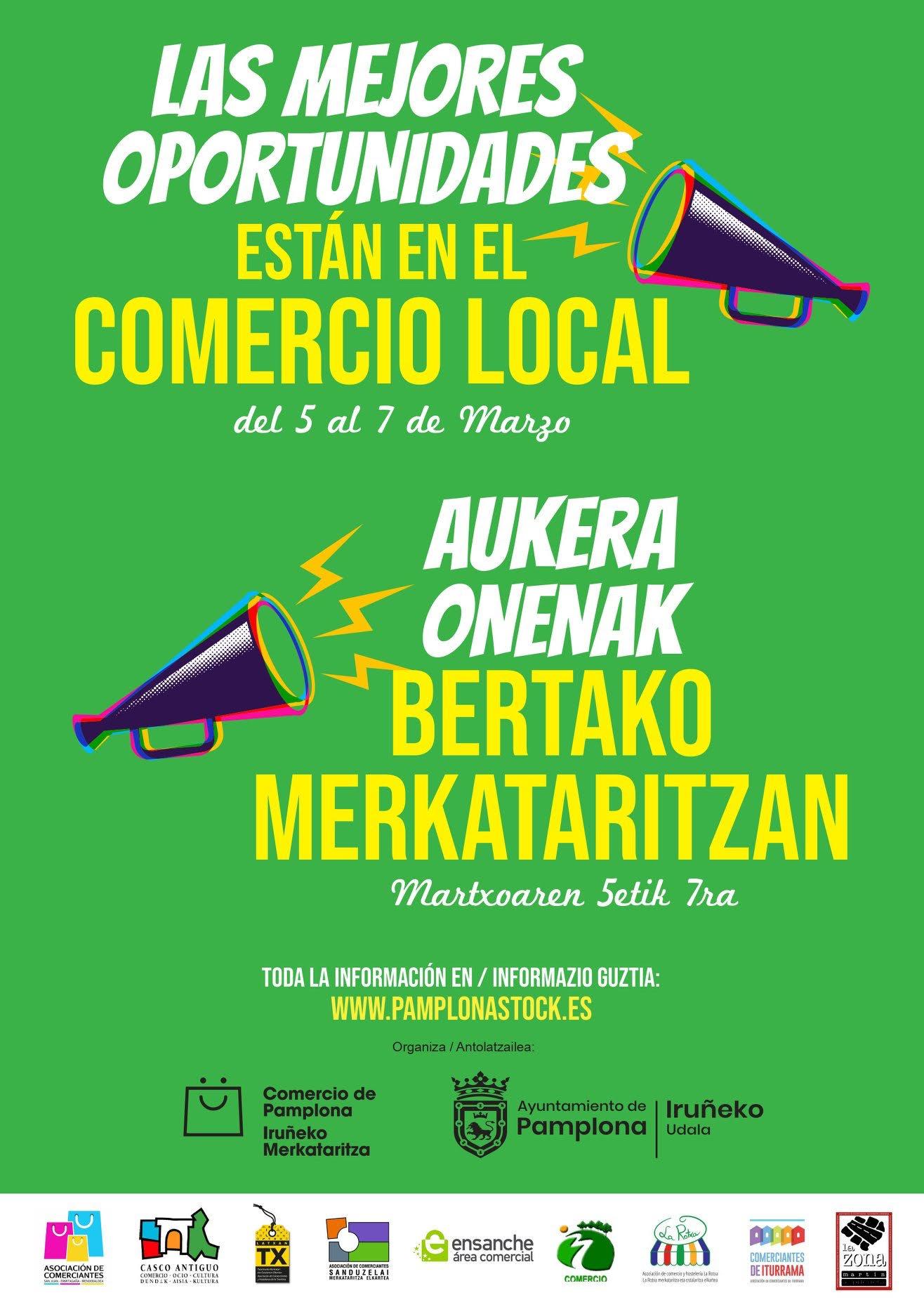 Descuentos en el supermercado ecológico Biecor-Lezkairu hasta mañana sábado 7 de marzo
