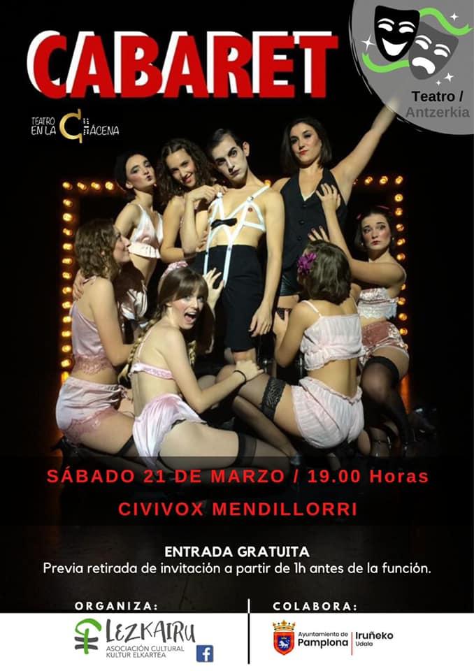 Teatro Cabaret el 21 de marzo