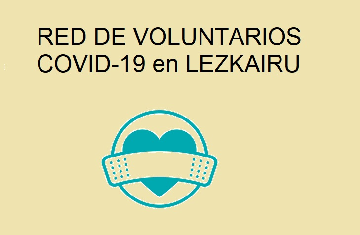 Red voluntarios Covid-19 en Lezkairu