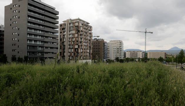 Aprobada inicialmente la modificación del Plan Parcial de Arrosadía-Lezkairu que permite construir una residencia junto a Juan Pablo II
