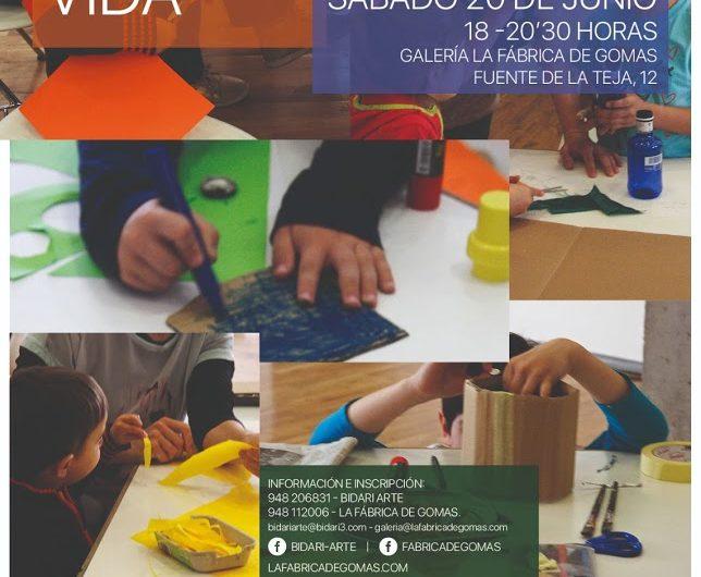 Taller artístico intergeneracional en La Fábrica de Gomas. Sábado 20 de junio
