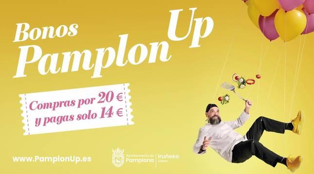 PamplonaUp: bonos para comprar con un 30% de descuento