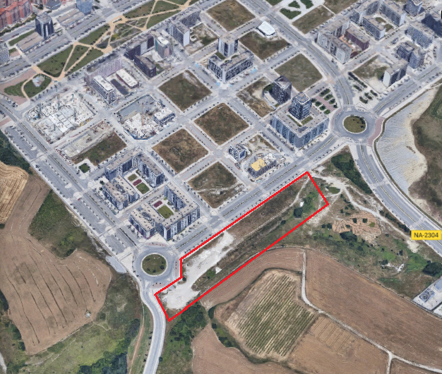 El Ayuntamiento aprueba el convenio con el Gobierno de Navarra para la cesión de una parcela para la construcción de un colegio público de Infantil y Primaria en Lezkairu