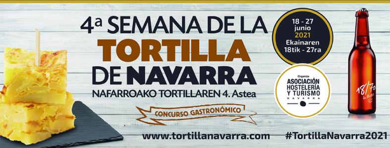 Semana de la tortilla de Navarra: del 18 al 27 de junio