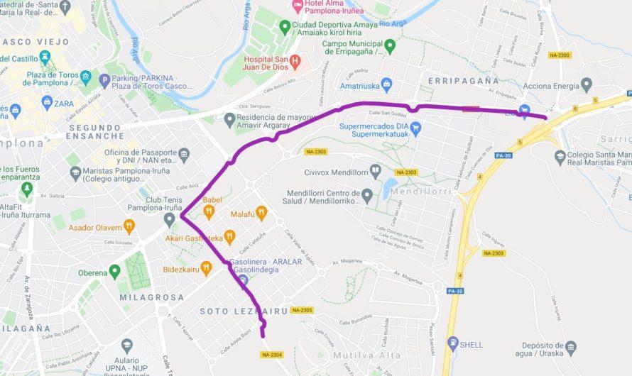 Hoy, lunes 26 de julio, pasará la Vuelta Ciclista a Pamplona femenina por Lezkairu