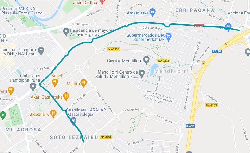 Hoy, miércoles 28 de julio, pasará la Vuelta Ciclista a Pamplona Junior por Lezkairu