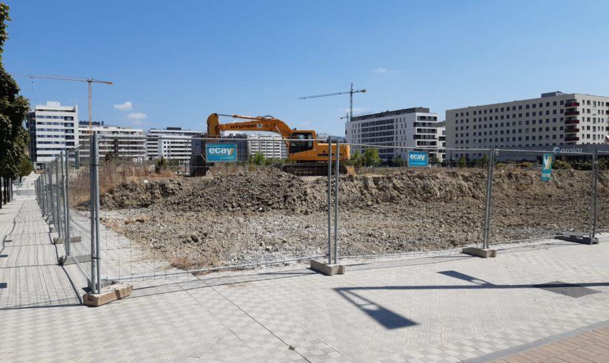 Ya han comenzado las obras en la parcela del hotel