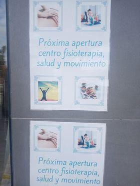 Próxima apertura: centro de fisioterapia, salud y movimiento