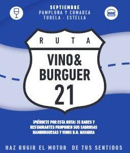 Ruta Vino&Burguer 2021 en Lezkairu durante el mes de septiembre