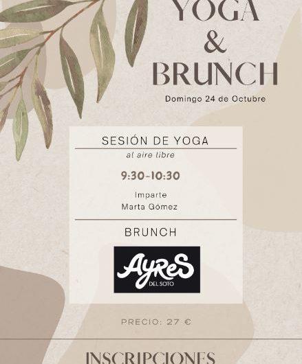 Yoga & brunch, domingo 24 de octubre